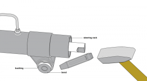 Steering Rack Bushing diagram sb25