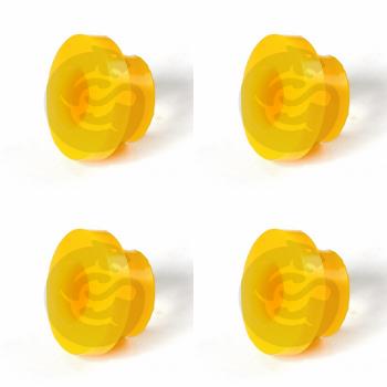 Set of 4 Polyurethane bushing for RANCHO shock absorber cone / collar I.D. = 19 mm; Siberian bushing 0-03-282
